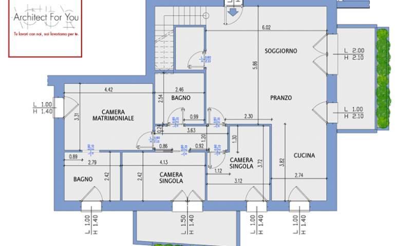 come progettare una casa online rete camere